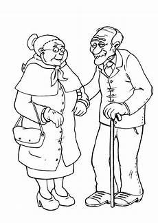 Gratis Malvorlagen Oma Und Opa Malvorlage Oma Und Opa Kostenlose Ausmalbilder Zum