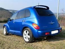 chrysler pt cruiser 2 4 turbo gt electricblue biete