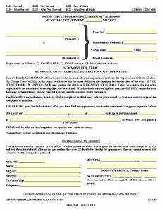 in the circuit court of cook county illinois municipal form fill out and sign printable
