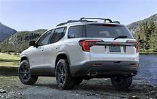 2020 gmc acadia at4 what s the diff road