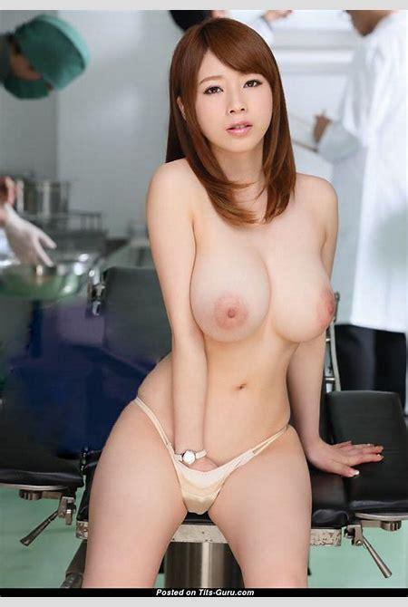 Saki Okuda - Asian Dish with Nude Natural Normal Boobie ...