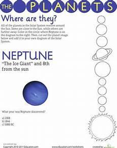 uranus planet worksheet solar system neptune solar system worksheets earth