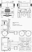 Mack F Series Truck Blueprint  Blueprints Wooden Toy