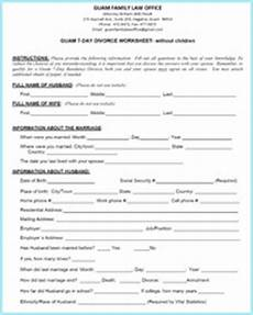 guam 7 day residency divorce worksheets guam family law