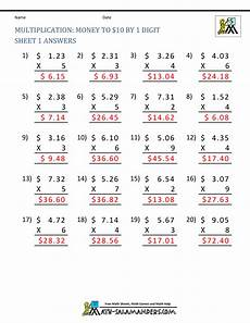 multiplying decimals worksheets with answers 7338 printable multiplication sheet 5th grade