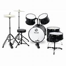 New Drum Set For Beginners Complete Size 5pc