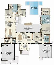 upstair house plans 4 bed modern house plan with upstairs in law suite