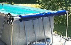 Comment Installer Solaire Piscine Enrouleur Piscine Hors Sol B 226 Che 224 Bulles Baches