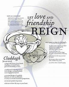 claddagh ring represent friendship heart represents love crown represents loyalty my