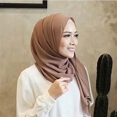 Tutorial Simple Pashmina Terbaru Muslimah Cantik