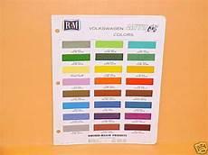 1970 volkswagen glitter bug paint chips color chart vw ebay
