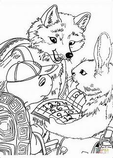 Ausmalbild Hase Und Fuchs Ausmalbild Franklin Lernt Mit Fuchs Und Hase
