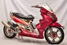 Modifikasi Mio 2008 by Auto Njing Modifikasi Yamaha Mio Soul 2008 Baby Majesty
