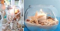 come creare le candele 15 candele in vaso a tema mare semplici da realizzare