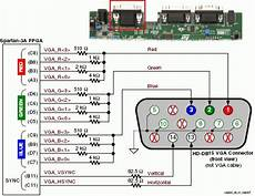 Vga To Component Wiring Diagram Wiring Diagram And
