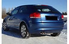 Fox Sportauspuff Audi A3 8p 3 T 252 Rer Bj 2003 2013 Bis