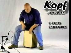 box drums that you sit on the cajon s series snare cajon from kopf percussion