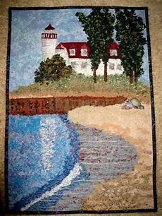 art quilt point betsie lighthouse frankfort michigan