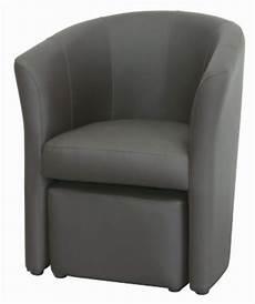 fauteuil cabriolet avec pouf fauteuil pas cher but fr