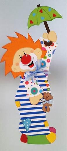 Basteln Zum Fasching - fensterbild clown im nachthemd fasching karneval