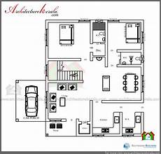3 bedroom kerala house plans low cost 3 bedroom kerala house plan with elevation free
