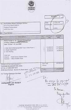 contoh invoice tiket pesawat hontoh