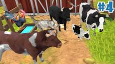 farm animal family online sim group of cows android ios gameplay episode 4 youtube