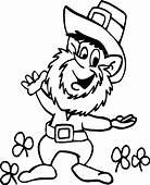Leprechaun Coloring Page  Cars Pages