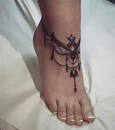 Fuß Frau - pin de en tattoos tattoos anklet