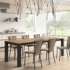 table de cuisine rectangle extensible en stratifi 233 vario