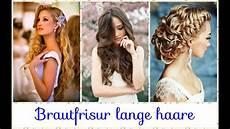 brautfrisur lange haare