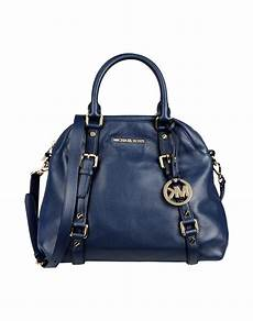 michael kors handbag in blue blue lyst