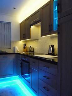 kitchen under unit pelmet plinth display cabinet energy saving led strip lights ebay