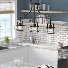 Kitchen Island Lighting Sale by Braxton 3 Light Kitchen Island Pendant Reviews Joss