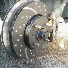 new discs and brake pads on ebc turbo groove discs and