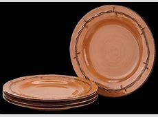 """""""Rustic Ranch"""" Dinner Plates by Montana Silversmiths"""