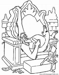 jungle book coloring pages getcoloringpages