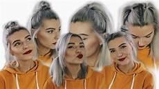 six easy back to school hairstyles short hair lovefings youtube