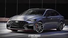 toyota electrico 2020 2020 hyundai sonata n rendered imagining meaner model