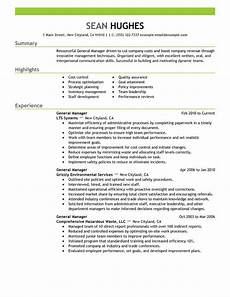 general manager resume sle perfect store sles resumes retail management good resume