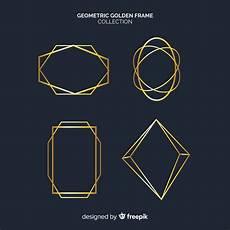 cornici geometriche collezione di cornici geometriche dorate scaricare