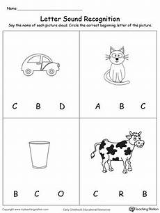 letter a b c worksheets 23975 recognize the sound of the letter c myteachingstation