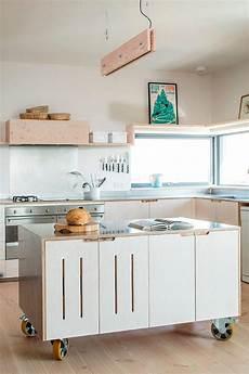 ilot sur conseils et id 233 es pratiques d 238 lot sur roulettes dans la cuisine moderne