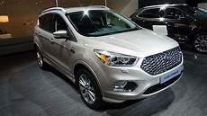 ford vignale kuga 2017 ford kuga vignale exterior and interior auto show
