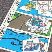 Transportation Math And Literacy Centers For Preschool