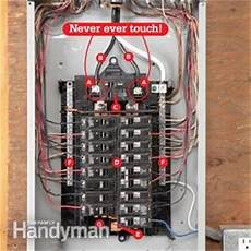 breaker box safety how to connect a new circuit the family handyman breaker box safety how to connect a new circuit family handyman