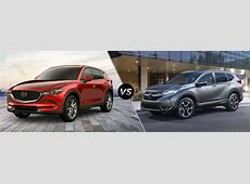 2019 Mazda CX 5 vs 2019 Honda CR V