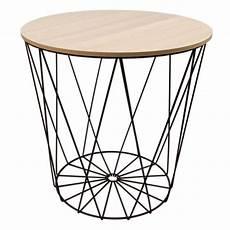 drahtkorb als tisch de tisch design beistelltisch drahtkorb metall mit
