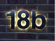 beleuchtete hausnummer led pin by housenumbers limited on house numbers in 2019