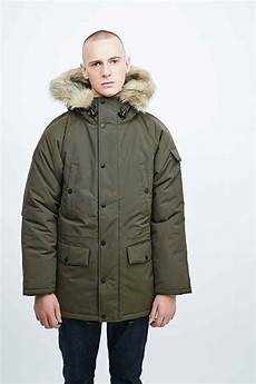carhartt anchorage parka in cypress green in green for